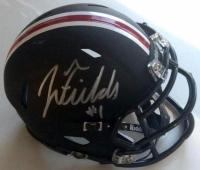 Justin Fields Signed Ohio State Buckeyes Speed Mini Helmet (JSA COA) at PristineAuction.com