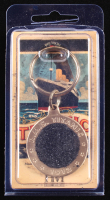 Authentic Coal From Titanic Wreckage in Bronze Keychain (RMS Titanic COA) at PristineAuction.com
