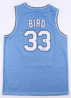 Larry Bird Signed Indiana State Sycamores Jersey (Bird Hologram) at PristineAuction.com