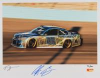 Alex Bowman Signed NASCAR LE 11x14 Photo (PA COA) at PristineAuction.com