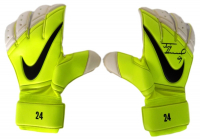 Pair of (2) Tim Howard Signed Game-Issued Nike Soccer Gloves (JSA COA & Howard Hologram) at PristineAuction.com