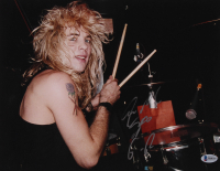 "Steven Adler Signed Guns N' Roses 11x14 Photo Inscribed ""G-R"" (Beckett COA) at PristineAuction.com"