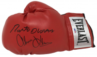 Roberto Duran & Thomas Hearns Signed Everlast Boxing Glove (PSA COA) at PristineAuction.com