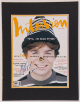 Mike Myers Signed 14x18 Custom Matted Photo Display (PSA COA) at PristineAuction.com