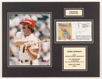 Mike Schmidt Signed Phillies 14x18 Custom Matted Cachet Envelope Display (JSA COA) at PristineAuction.com