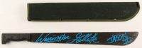 "Warrington Gillette Signed ""Friday the 13th"" 24"" Steel Machete Inscribed ""Jason II"" (Legends COA) at PristineAuction.com"
