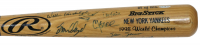 1998 Yankees World Series Champions LE Rawlings Baseball Bat Signed by (21) with Derek Jeter, Mariano Rivera, Tim Raines, Mel Stottlemyre (Steiner COA) at PristineAuction.com