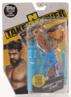 Andrade Signed WWE NXT Takeover Action Figure With Topps Collectible Card (JSA COA) at PristineAuction.com