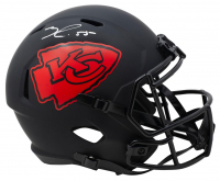Frank Clark Signed Chiefs Full-Size Eclipse Alternate Speed Helmet (Beckett COA) at PristineAuction.com
