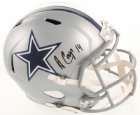 Amari Cooper Signed Cowboys Full-Size Speed Helmet (JSA COA) at PristineAuction.com