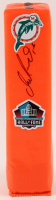 Dan Marino Signed Dolphins Hall Of Fame Logo Pylon (JSA COA) at PristineAuction.com