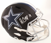 Amari Cooper Signed Cowboys Full-Size Matte Black Speed Helmet (Beckett COA) at PristineAuction.com