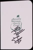Bubba Watson Signed Masters Augusta National Golf Club 5x6 Scorecard (JSA COA) at PristineAuction.com
