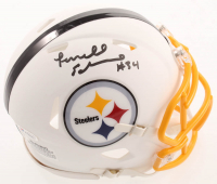 Terrell Edmunds Signed Steelers Matte White Speed Mini Helmet (Beckett COA) at PristineAuction.com