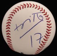 Romero Britto Signed OML Baseball (JSA LOA) at PristineAuction.com