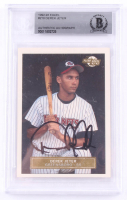 Derek Jeter Signed 1992 Excel #210 RC (BGS Encapsulated) at PristineAuction.com