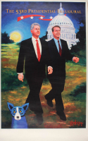 """George Rodriguez LE """"The 53rd Presidential Inaugural"""" 24x38 Lithograph at PristineAuction.com"""