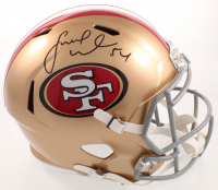 Fred Warner Signed 49ers Full Size Speed Helmet (Beckett COA) at PristineAuction.com