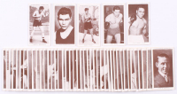 """1938 Churchman """"Boxing Personalities"""" Near Complete Set of (47 / 50) Cards with Jack Dempsey, Joe Louis, Jack Johnson, James Braddock, Gene Tunney at PristineAuction.com"""
