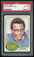 Walter Payton 1976 Topps #148 RC (PSA 8) at PristineAuction.com