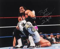 "Bret ""Hitman"" Hart Signed WWE 16x20 Photo (JSA COA) at PristineAuction.com"