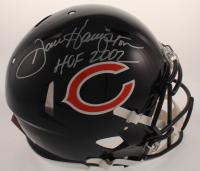 "Dan Hampton Signed Bears Full-Size Authentic On-Field Speed Helmet Inscribed ""HOF 2002"" (JSA COA) at PristineAuction.com"
