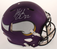 Harrison Smith Signed Vikings Full-Size Authentic On-Field Speed Helmet (Beckett COA) at PristineAuction.com