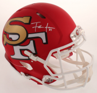 Frank Gore Signed 49ers Full-Size Authentic On-Field AMP Alternate Speed Helmet (JSA COA) at PristineAuction.com