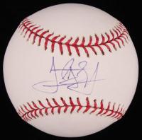 Jordan Schafer Signed OML Baseball (SidsGraphs COA) at PristineAuction.com