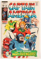 "1969 ""Captain America"" Issue #116 Marvel Comic Book at PristineAuction.com"