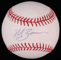 Michael Bowden Signed OML Baseball (SidsGraphs COA) at PristineAuction.com