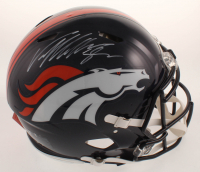 Von Miller Signed Broncos Full-Size Authentic On-Field Speed Helmet (JSA COA) at PristineAuction.com