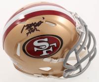 Matt Breida Signed 49ers Speed Mini-Helmet (Beckett COA) at PristineAuction.com