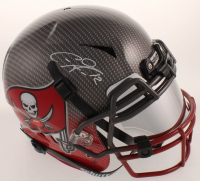 Chris Godwin Signed Buccaneers Full-Size Authentic On-Field Hydro-Dipped Vengeance Helmet with Visor (JSA COA) at PristineAuction.com
