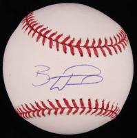 Brandon Wood Signed OML Baseball (SidsGraphs COA) at PristineAuction.com