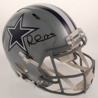 """Michael """"Playmaker"""" Irvin Signed Cowboys Full-Size Authentic On-Field Speed Helmet (Beckett COA) at PristineAuction.com"""