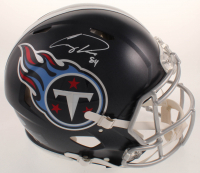 Corey Davis Signed Titans Full-Size Authentic On-Field Speed Helmet (Beckett COA) at PristineAuction.com