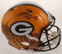 Jordy Nelson Signed Packers Full-Size Authentic On-Field Hydro-Dipped Speed Helmet (JSA COA) at PristineAuction.com