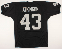 "George Atkinson Signed Jersey Inscribed ""SB XI "" (JSA COA) at PristineAuction.com"