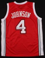 Larry Johnson Signed Jersey (JSA COA) at PristineAuction.com