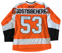 Shayne Gostisbehere Signed Flyers Jersey (JSA COA) at PristineAuction.com