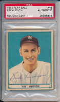 Sid Hudson Signed 1941 Play Bill #46 (PSA Encapsulated) at PristineAuction.com