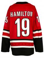 Dougie Hamilton Signed Hurricanes Fanatics Jersey (Fanatics Hologram) at PristineAuction.com