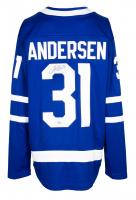 Frederik Andersen Signed Maple Leafs Fanatics Jersey (Fanatics Hologram) at PristineAuction.com