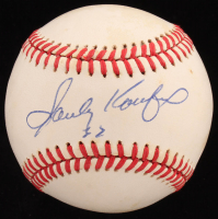 Sandy Koufax Signed ONL Baseball (PSA Hologram) at PristineAuction.com