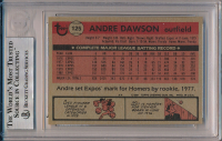 Andre Dawson Signed 1981 Topps #125 (BGS Encapsulated) at PristineAuction.com