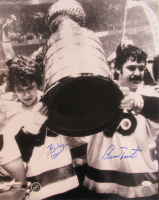 Bobby Clarke & Bernie Parent Signed Flyers 16x20 Photo (JSA COA) at PristineAuction.com