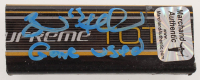 "Brad Marchand Signed Game-Used Hockey Stick Piece Inscribed ""Game Used"" (Marchand COA & YSMS COA) at PristineAuction.com"