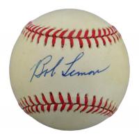 Bob Lemon Signed OAL Baseball (PSA COA) at PristineAuction.com
