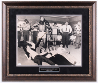 Muhammad Ali Signed 24.25x28.25 Custom Framed Photo Display (JSA LOA) at PristineAuction.com